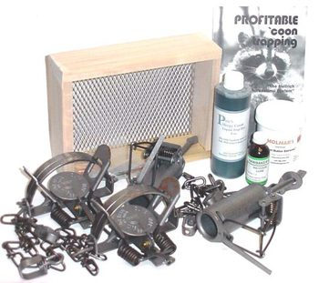 Raccoon Trapping Kit  #rtkit12